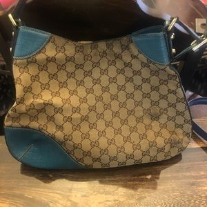 Gucci Bags - Gucci GG Canvas Hasler Hobo GUC196624